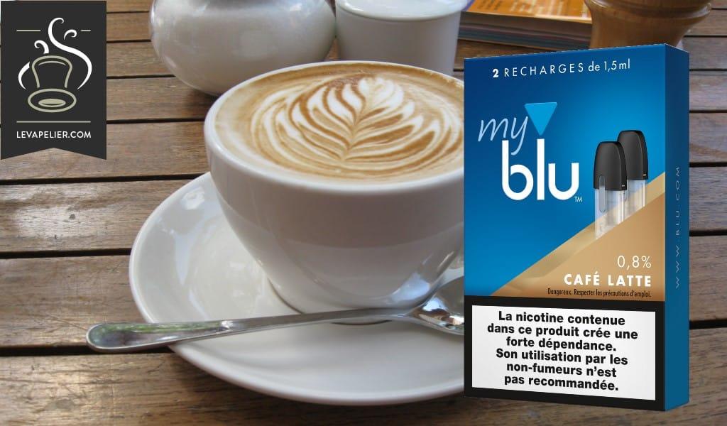 咖啡拿铁蓝光