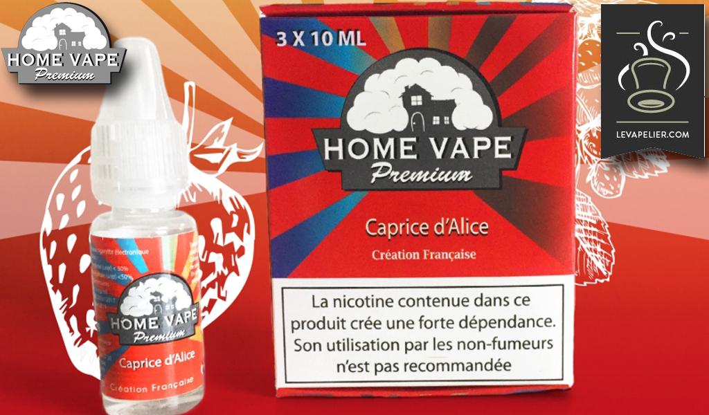Alice's Caprice van Home Vape