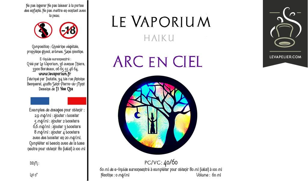 Arc en Ciel (Gamme Haiku) par Le Vaporium