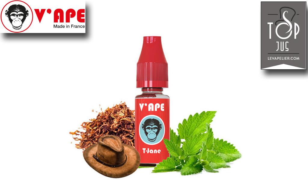 T-Jane (טווח V'APE אדום) על ידי V'APE