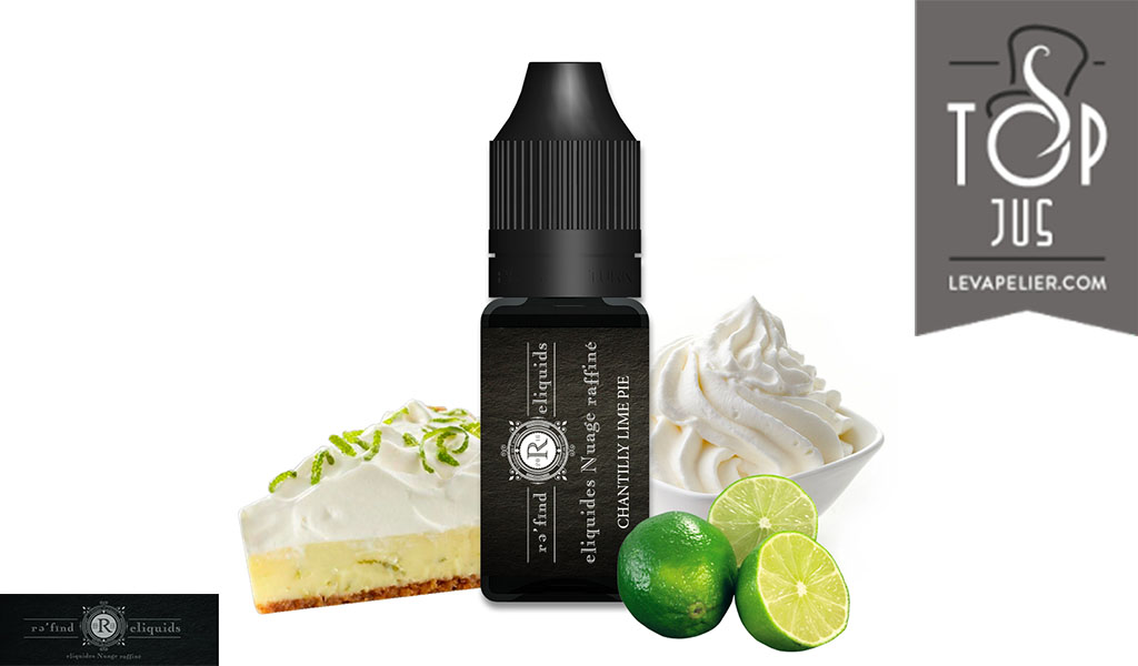 Chantilly Lime Pie par Refind Eliquids