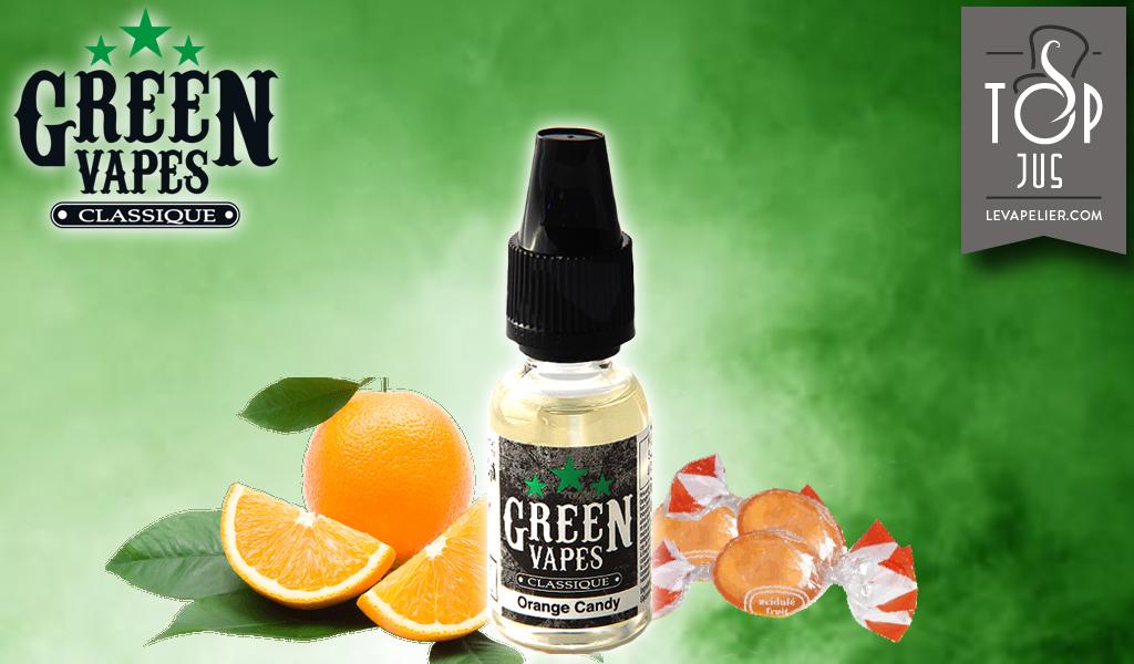 Orange Candy (Gamme Green Vapes) par Green Liquides