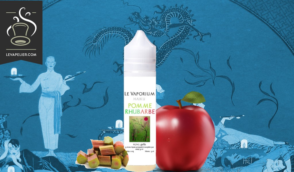 Rhubarbe Pomme (Gamme Haiku) par Le Vaporium