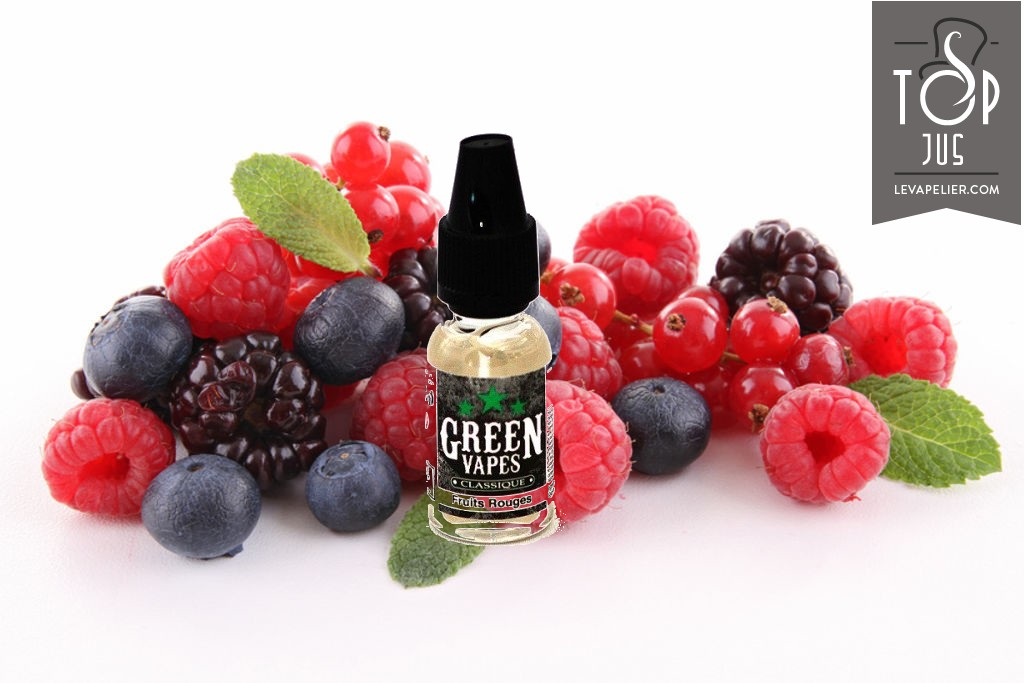 Red Fruits (Classic Range) van Green Vapes