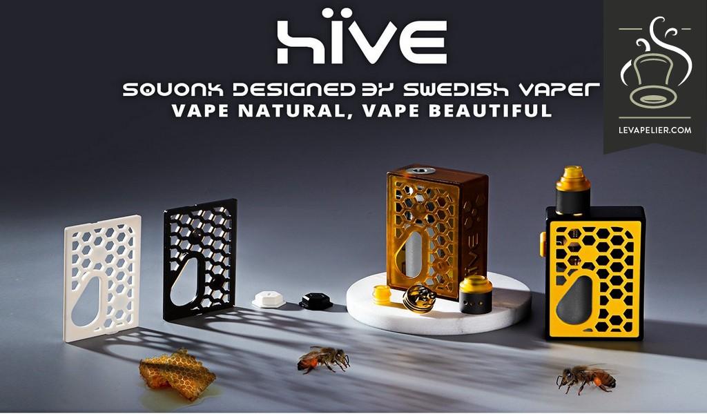 kit Hive Squonk Dinky par Swedish Vaper