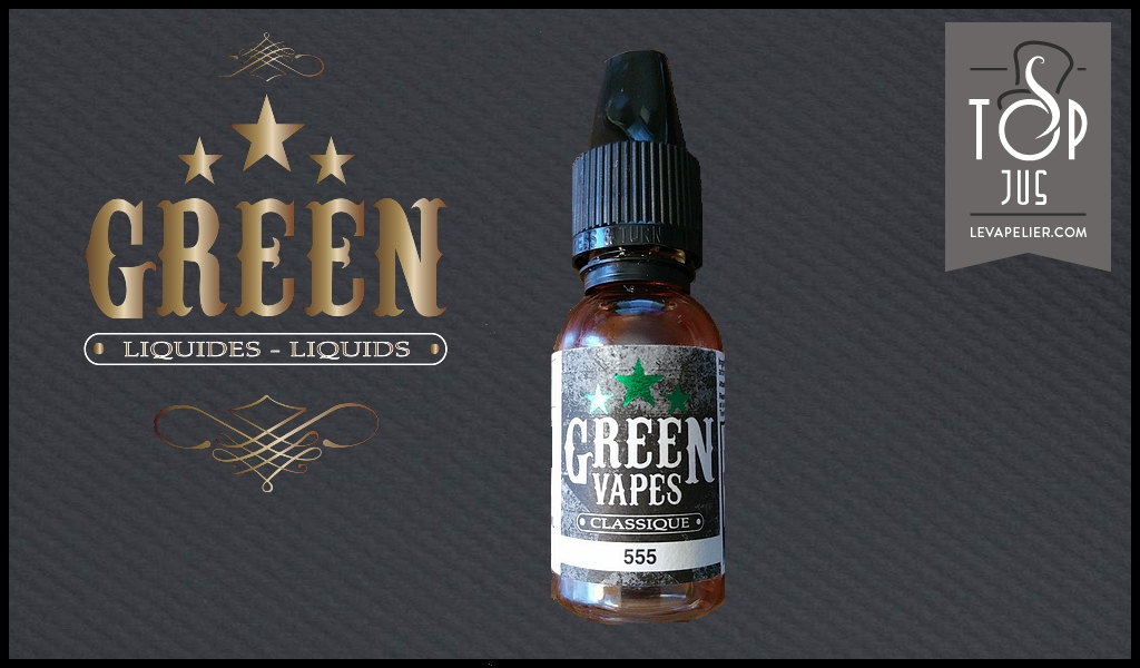 555 (Green Vapes Classical Range) van Green Liquides