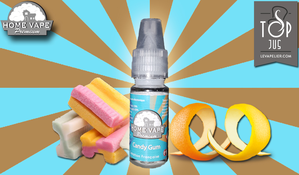 Candy Gum par Home Vape