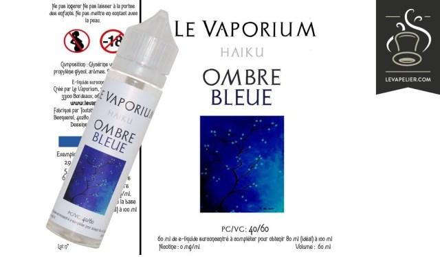 Ombre Bleue (Gamme Haiku) par Le Vaporium