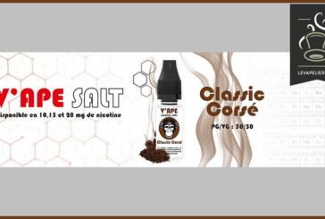 Classic Corsé (Gamme V'APE SALT) par V'APE