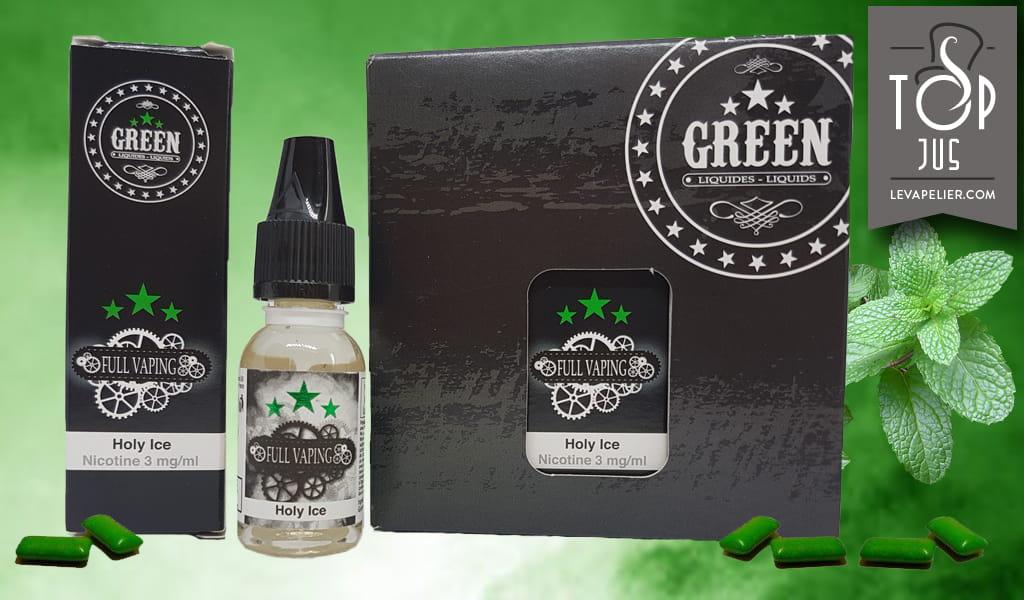 Holy Ice (Full Vaping Range) de Green Liquides