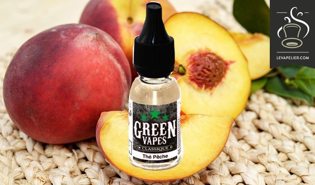 Peach Tea (Classic Range) van Green Liquides