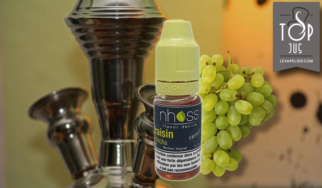 Nhoss的Grape Chicha(电子液体系列Shisha)