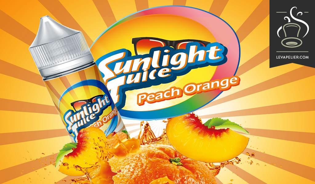 אפרסק כתום על ידי מיץ אור השמש