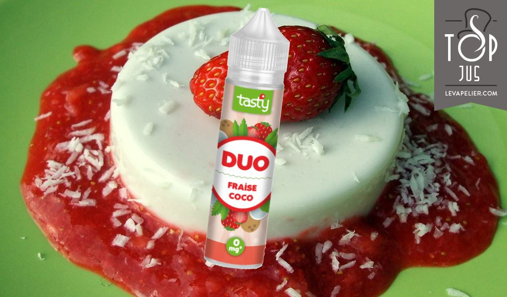 Coconut Strawberry Duo de Tasty