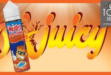 Mister Popcorn van O'Juicy