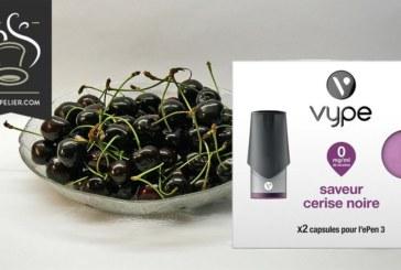 Sabor a cereza negra de Vype