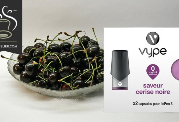 Black Cherry flavor by Vype