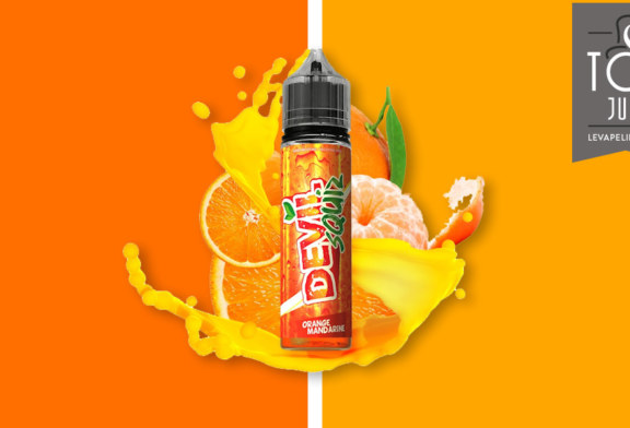 Orange Mandarine (Gamme Devil Squiz) par Avap