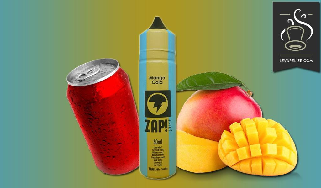 ZAP JUICE的芒果可乐(复古可乐系列)