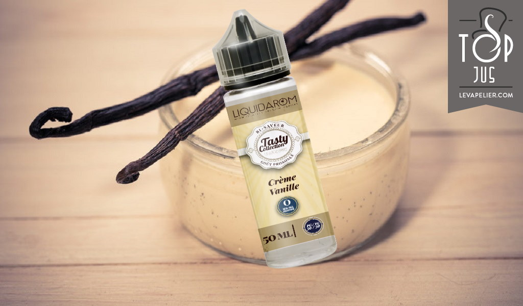 Crème Vanille (Gamme Tasty Collection) par Liquidarom