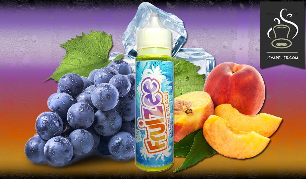 Purple Beach (Fruizee Range 50ml) door Eliquid France