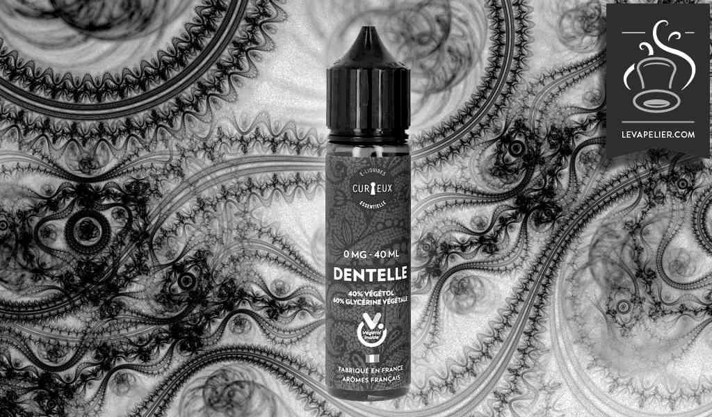 Dentelle (Gamme Essentielle) par Curieux E-Liquides