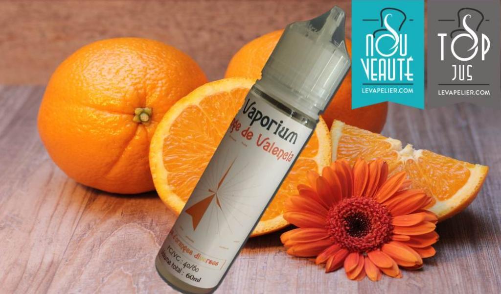 Orange de Valencia par Le Vaporium