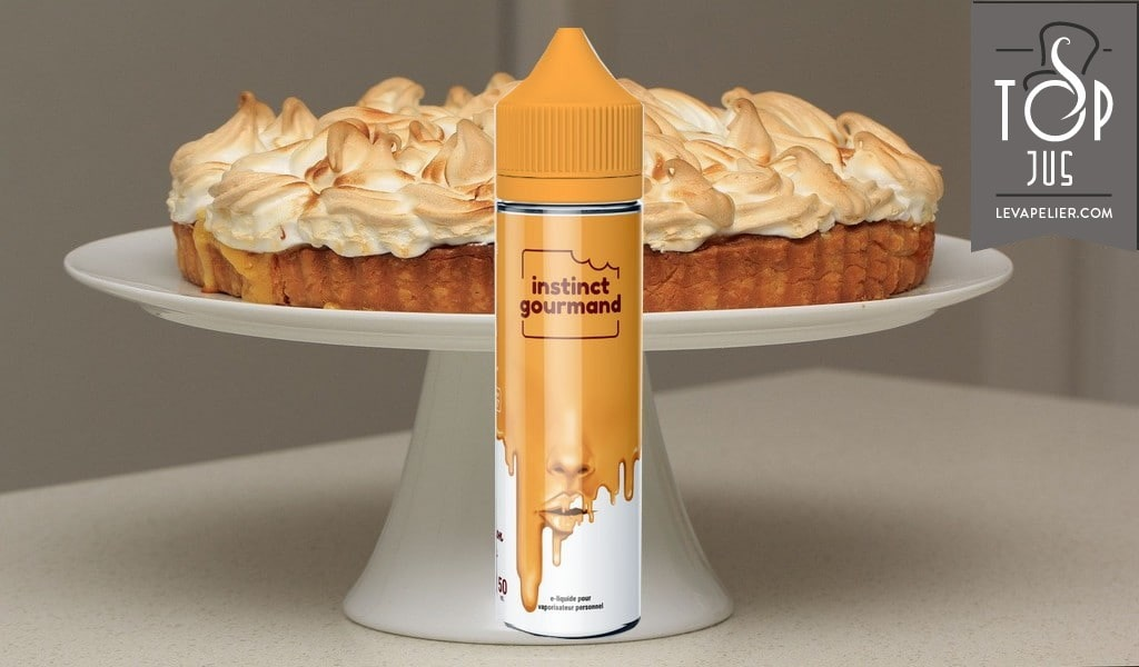 Lemon Pie (Gamme Instinct Gourmand) par Alfaliquid