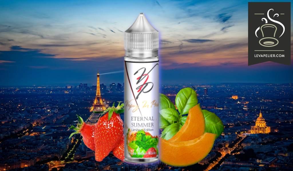 Fraise Melon Basilic (Gamme Eternal Summer) par Vaping in Paris