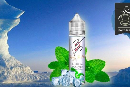 נענע קוטב קרח (טווח קיץ נצחי) של Vaping בפריז