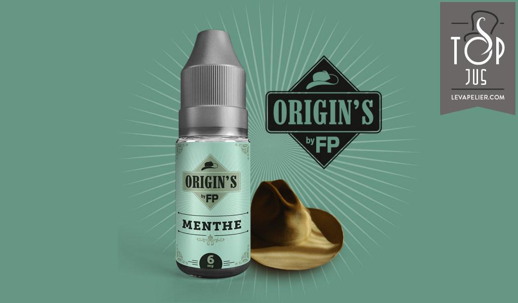 Menthe (Gamme Origin's) par Flavour Power