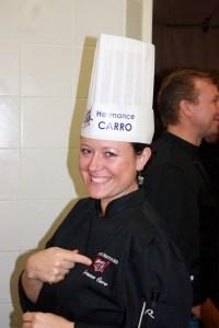 La jolie Hermance Carro, seule femme de la bande!