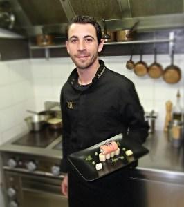 Benoit Simian, Chef au restaurant Riviera III, Six Fours