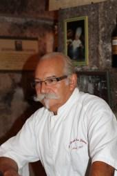 Alain Mari, chef au Moulin du Gapeau à Belgentier