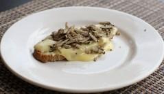 Camembert et truffe Tuber Estivum