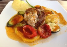 La Table de Pôl, Epaule d'agneau du Ségala Aveyron aux herbes, légumes confits à l'huile d'ici