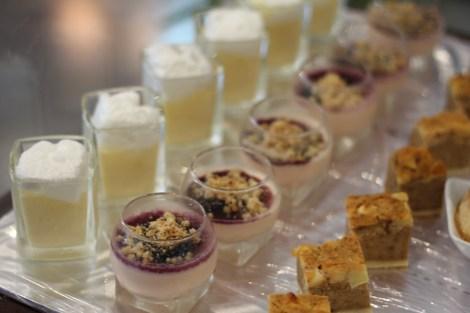 Buffet des desserts réalisé par Pascal