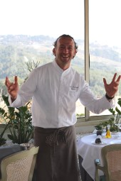 Jean-François Bérard, chef à L'Hostellerie Bérard & Spa**** (La Cadière d'Azur)