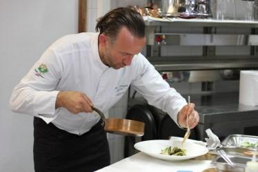Jean-François Bérard, chef des restaurants de l'Hostellerie Bérard