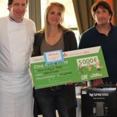 Olivier et Virginie Paxe, La Miellerie de l'Oratoire, vainqueur catégorie Agriculteurs