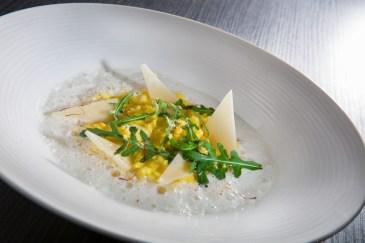 Risotto crémeux au safran et citron de Menton