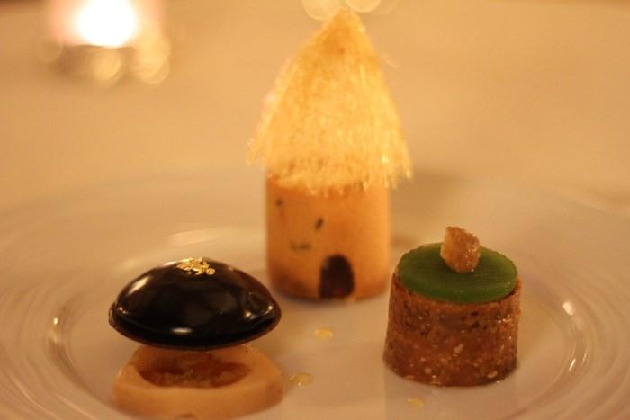 Le dessert signature de Jany Gleize, La Ruche, crème glacée au miel de lavande