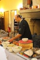 Laurent Bats, chef des cuisines du Provençal