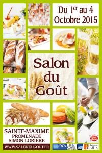 Salon du Goût 2015 à Sainte-Maxime