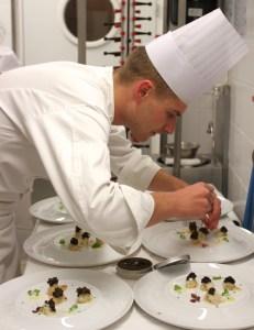 Tourteau/Caviar en préparation