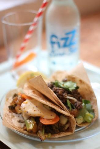 Le Tacos du jour : lentilles à la coriandre
