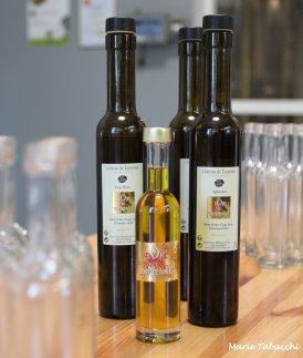 Le Chateau de Taurenne propose de fabriquer soi-même son assemblage d'huiles d'olives