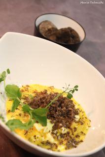 Huevos Rotos et truffes
