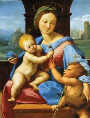 На всех этих картинах Мария смотрит на Радана