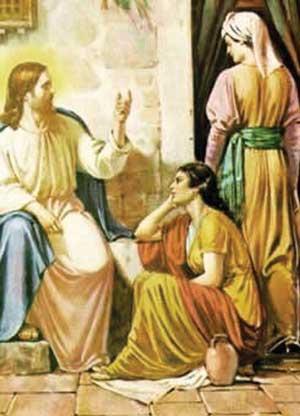 Иудейский пророк Джошуа со своей женой Марией